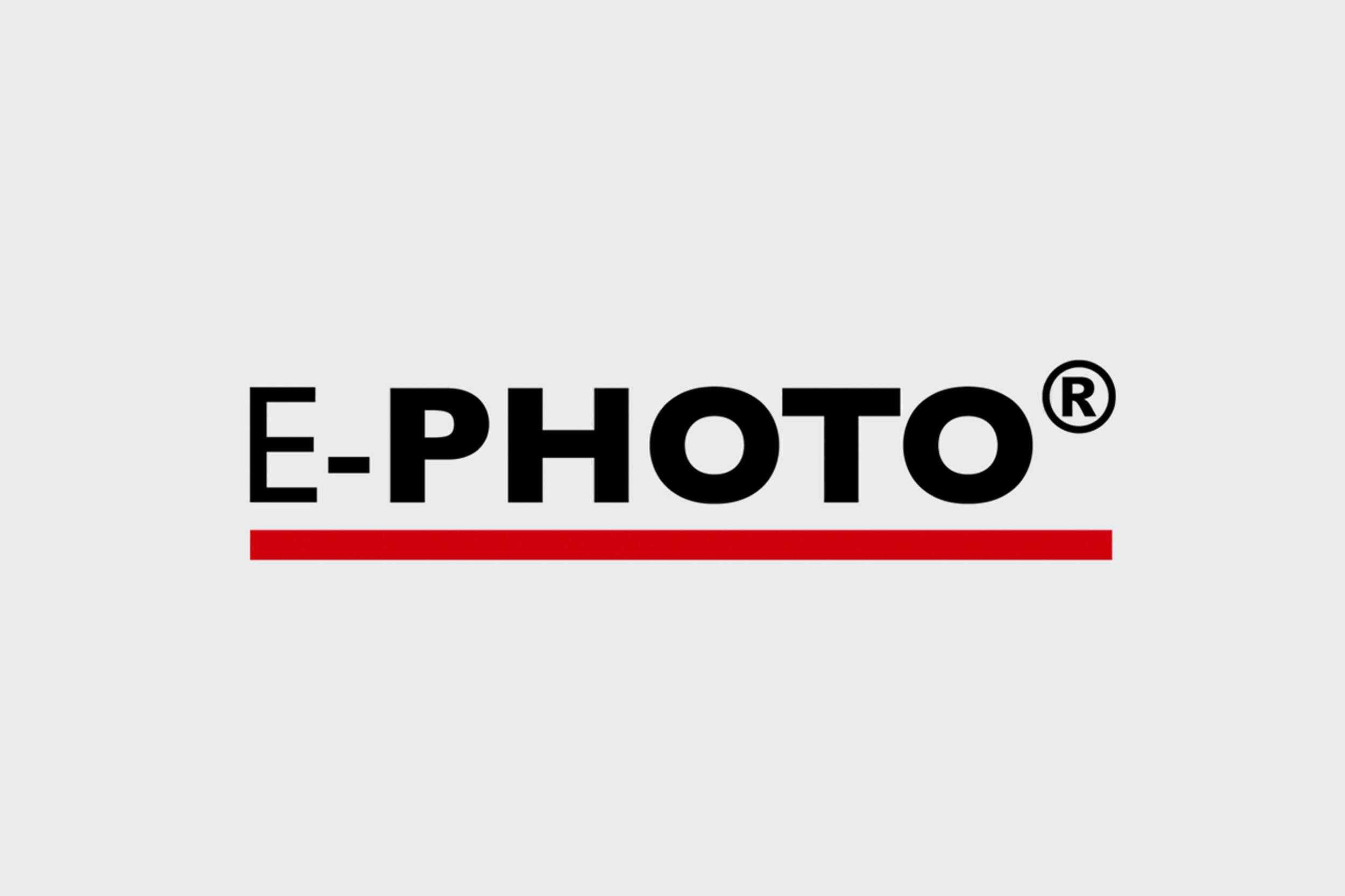 e photo logo